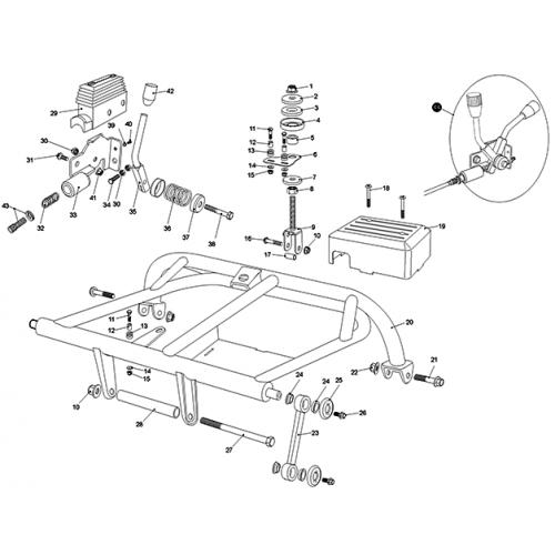 Rear Swing Arm, Upper (Kasea LM150IIR 2000) on kawasaki wiring diagram, husaberg wiring diagram, yamaha wiring diagram, norton wiring diagram, garelli wiring diagram, kymco wiring diagram, vespa wiring diagram, dinli wiring diagram, kazuma wiring diagram, phantom wiring diagram, tomos wiring diagram, royal ryder wiring diagram, motor trike wiring diagram, smc wiring diagram, motofino wiring diagram, lifan wiring diagram, alpha sports wiring diagram, ural wiring diagram, suzuki wiring diagram, ossa wiring diagram,