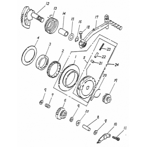 Starter (ADLY RT-50 Road Tracer)