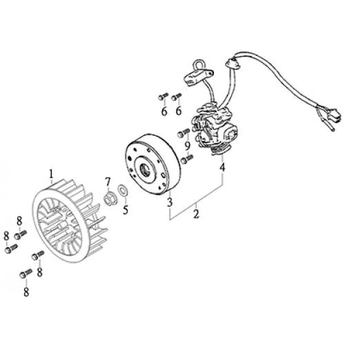 Generator (Thunder Bike 150)