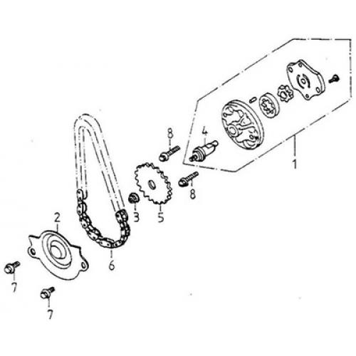 Oil Pump (Thunder Bike 150)