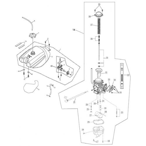 Adly atv wiring diagram wiring fuel tank and carburetor adly atv 300u ii roketa 250 atv wire diagram adly atv wiring diagram cheapraybanclubmaster Gallery