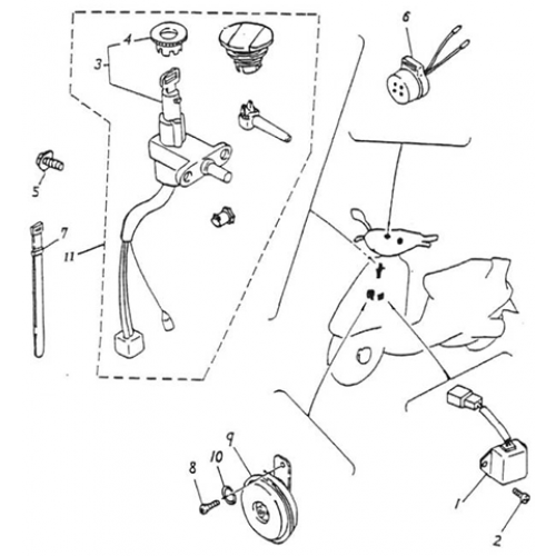 Salorr Scooter Wiring Diagram