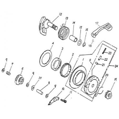 Starter (NEW) - BK (Adly GTA-50 2010)