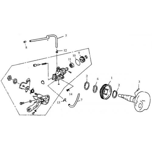 Oil Pump (Adly Jet 50)