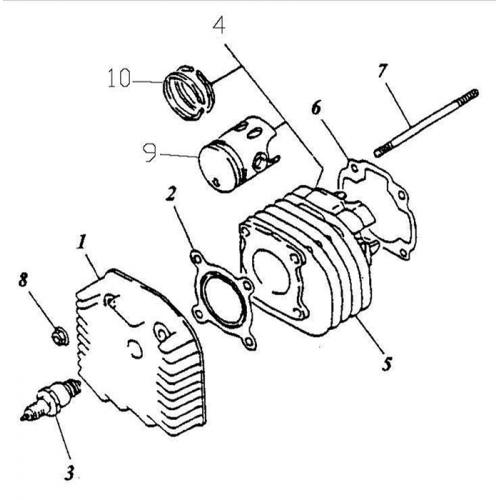 Cylinder | Cylinder Head (ADLY GTC-50)