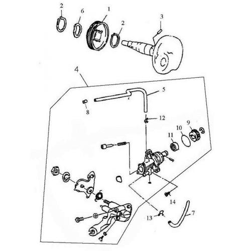 Oil Pump (ADLY GTC-50)