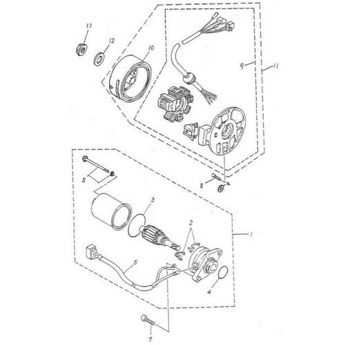Generator | Starting Motor (ADLY GTC-50)