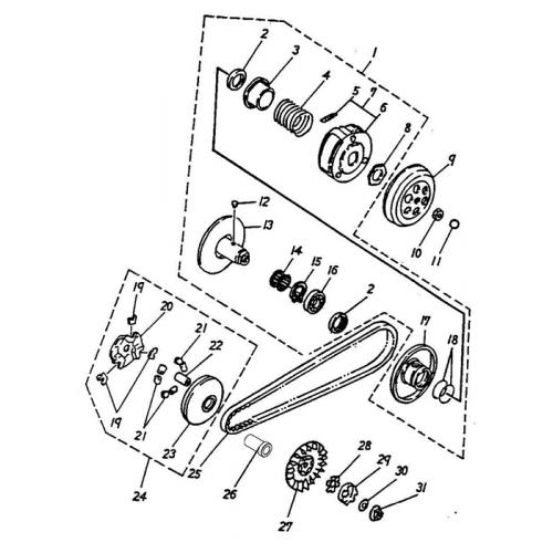 Clutch (ADLY GTC-50)
