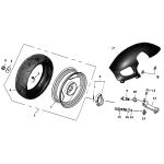 Rear Wheel   SPCC Rim