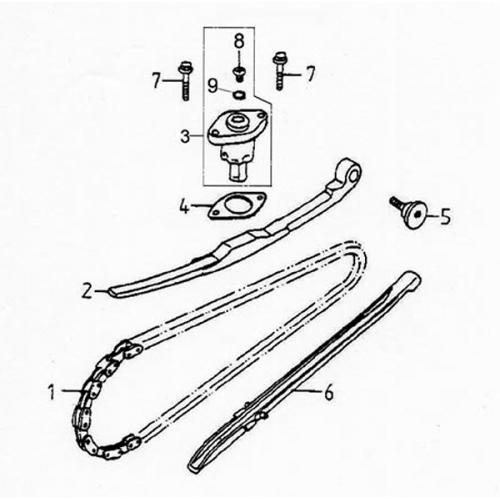 Cam Chain Tensioner (Lambretta UNO150)
