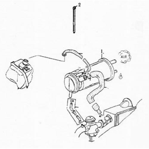 Canister Comp (Lambretta UNO150)