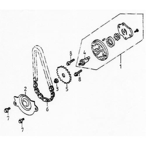 Oil Pump (Lambretta UNO150)