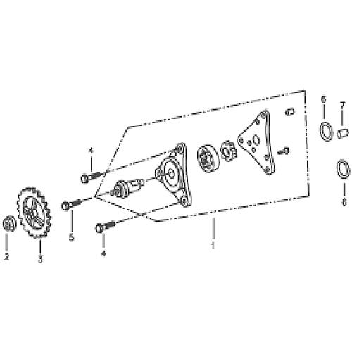 Oil Pump (Silver Fox (4 Stroke))