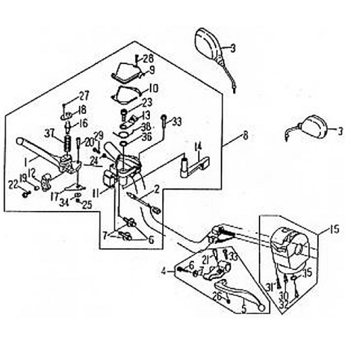 Service Manual Dazon Raider 250cc