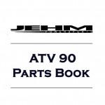 Parts Book for Jehm ATV 90