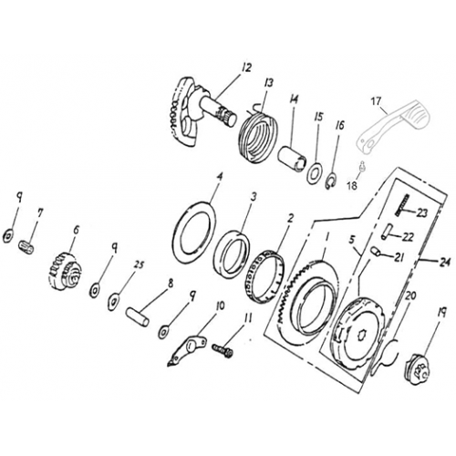Starter (Lambretta UNO50)