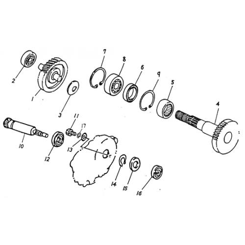 Transmission (Lambretta UNO50)