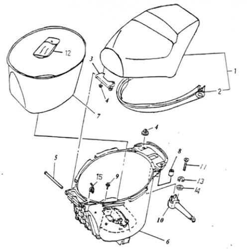 Seat (Lambretta UNO50)
