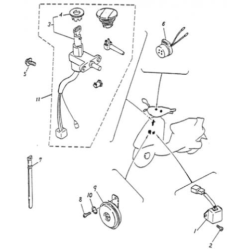 Electrical Equipment (Lambretta UNO50)