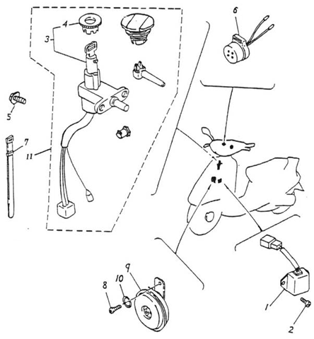 370 X Scooter Wiring Diagram